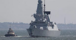 Russia says it chases British destroyer out of Crimea waters with warning shots, bombs