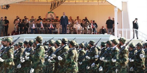 Attended by PM Al-Kadhimi, PMF holds a military parade in Diyala (Pictures)
