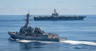 Russian troops hold drills as US, NATO warships enter Black Sea