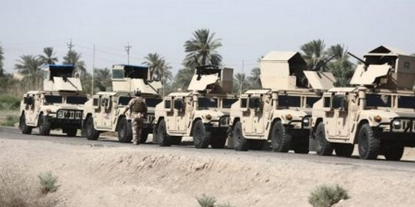 In Pictures… The Ongoing Security Operations North of Baghdad
