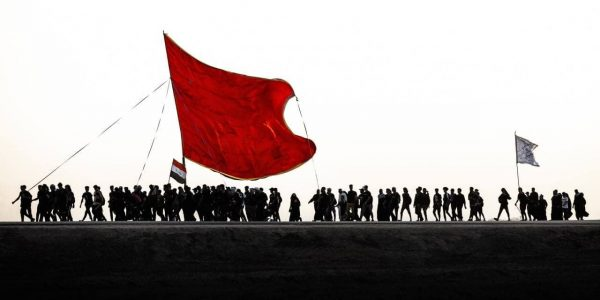 The march of Imam Hussein (PBUH) lovers, continued towards the holy city of Karbala, to perform the Arbaeen pilgrimage