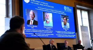 Nobel prize in physics goes to trio whose research alerted the world to climate change