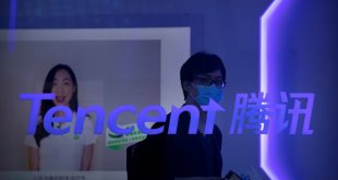 Tencent shares fall most in 10 years on fear of a crackdown