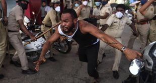 Congolese man's death in police custody sparks protest in India