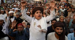 Thousands rally in Pakistan for release of banned religious party leader